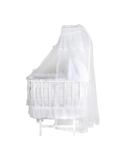 POKY Divonette Erkek Bebek Kapüşonlu Style Baskılı 2 Li Penye Takımı 6428 divonette6428-poky Beyaz